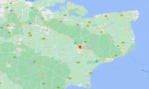 Simply Clicks Kent PPC SEO Map